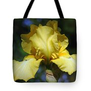Yellow Iris Is For Passion Tote Bag
