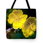 Yellow Is Gold Among The Flowers Tote Bag