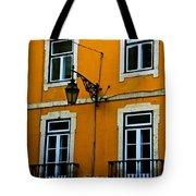 Yellow Italian Building Tote Bag