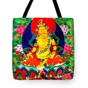 Yellow Jambhala 17 Tote Bag