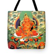 Yellow Jambhala 20 Tote Bag