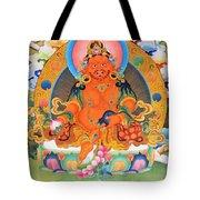Yellow Jambhala 21 Tote Bag