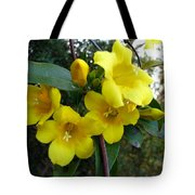 Yellow Jasmine Tote Bag