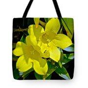 Yellow Jessamine At Pilgrim Place In Claremont-california Tote Bag