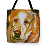 Yellow Lab Amazing Grace Tote Bag
