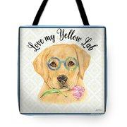 Yellow Lab-jp3869 Tote Bag