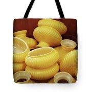 Yellow Lampshades Tote Bag