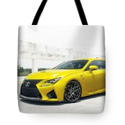 Yellow Lexus4 Tote Bag