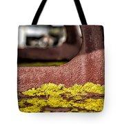 Yellow Lichen Tote Bag