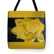 Yellow Lilac On The Pond Tote Bag