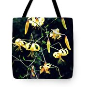Yellow Lilies In Fort Tryon Park Tote Bag