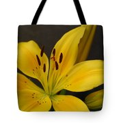 Yellow Lily 1 Tote Bag