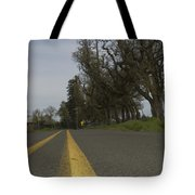 Yellow Lines Tote Bag