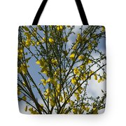 Yellow Little Flowers Tote Bag