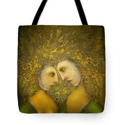 Yellow Lovers Tote Bag