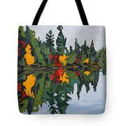 Yellow Maples Tote Bag