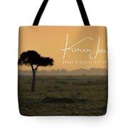 Yellow Mara Dawn Tote Bag