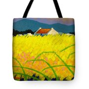 yellow Meadow Ireland Tote Bag