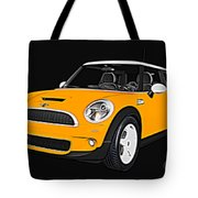 Yellow Mini  Tote Bag