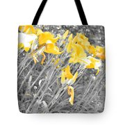 Yellow Moment In Time Tote Bag