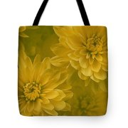 Yellow Mums Tote Bag
