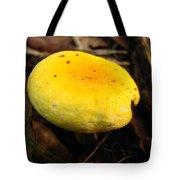 Yellow Mushroom Cap Tote Bag