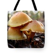 Yellow Mushrooms 1 Tote Bag