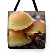 Yellow Mushrooms 2 Tote Bag
