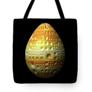 Yellow Nubbled Egg Tote Bag