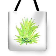 Yellow Octopus Agave Tote Bag