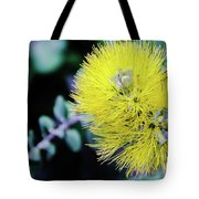 Yellow Ohia Flowers In Hawaii Tote Bag