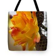 Yellow-orange Flower Tote Bag