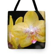 Yellow Orchid 2 Tote Bag
