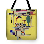 Yellow Painting Tote Bag