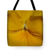 Yellow Pansy Tote Bag