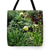 Yellow Peonia Tote Bag