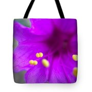 Yellow Pistil Tote Bag