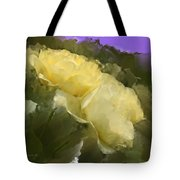 Yellow Pitch Tote Bag