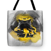 Yellow Poison Dart Frog No 04 Tote Bag