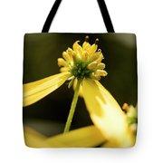 Yellow Pollinate Tote Bag