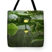 Yellow Pond Lily Tote Bag