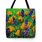 Yellow Poppies 560190 Tote Bag