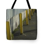Yellow Posts Tote Bag