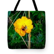 Yellow Power Tote Bag