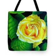 Yellow Tote Bag by Ramneek Narang