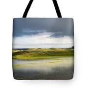 Yellow Reflection Tote Bag