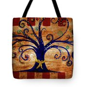 Yellow Ribbon Tote Bag
