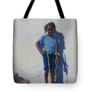 Yellow Rope Tote Bag