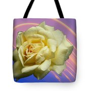 Yellow Rose 3 Tote Bag