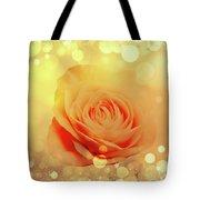 Yellow Rose And Joy Tote Bag